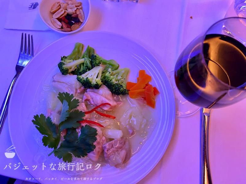 マレーシア航空A350-900ビジネススイート搭乗記(低糖質ミールは本当に軽めの食事)
