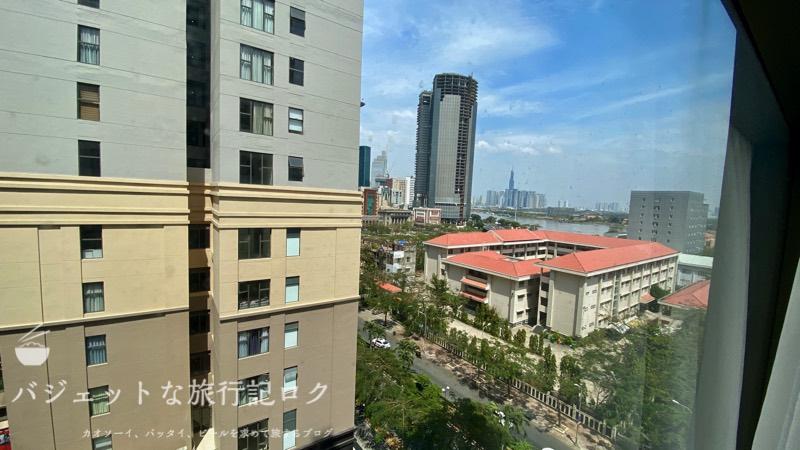 ホーチミン4区で民泊・エアビ・Airbnb(部屋からの眺め)
