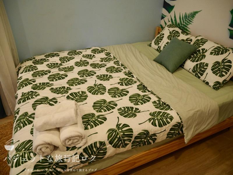 ホーチミン4区で民泊・エアビ・Airbnb(ダブルベッド)