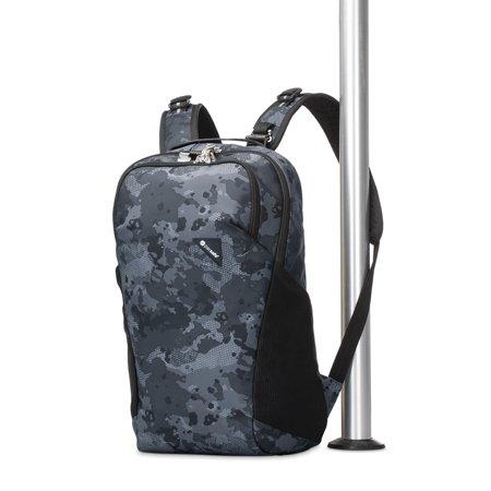 パックセーフ・バイブ・バックパック - Pacsafe Vibe 20L(肩バックストラップを外して柱に固定できる)