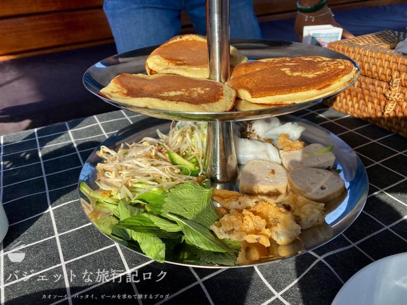 サイゴン川クルーズなら朝食からディナーまで()