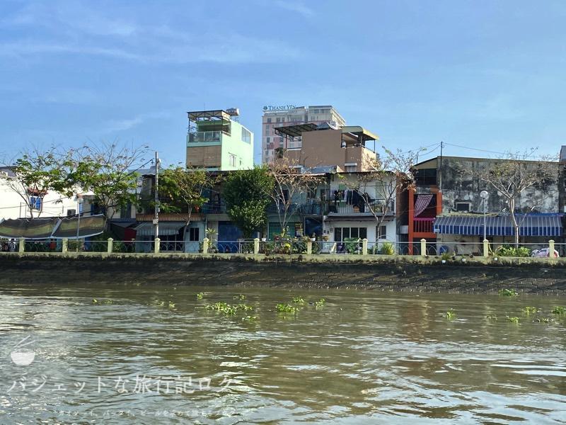 サイゴン川クルーズなら朝食からディナーまで(庶民的な風景)