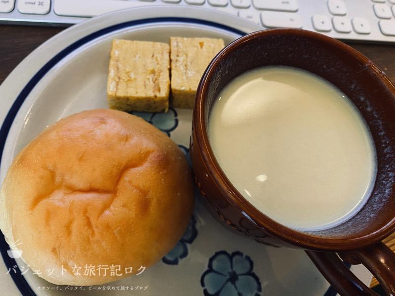 マッスルデリ(Muscle Deli)の高タンパク・低カロリーな宅配弁当(パンとスープセット)