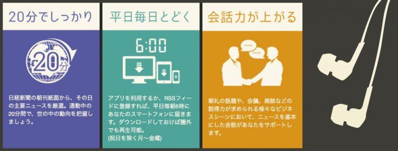 オーディオブック(audiobook.jp)聴く日経
