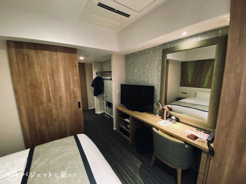 【宿泊記】ホテル・トリフィート那覇旭橋(客室の風景)