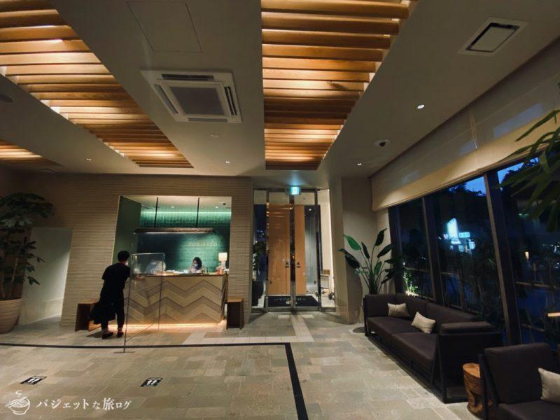 【宿泊記】ホテル・トリフィート那覇旭橋(ホテルロビー)