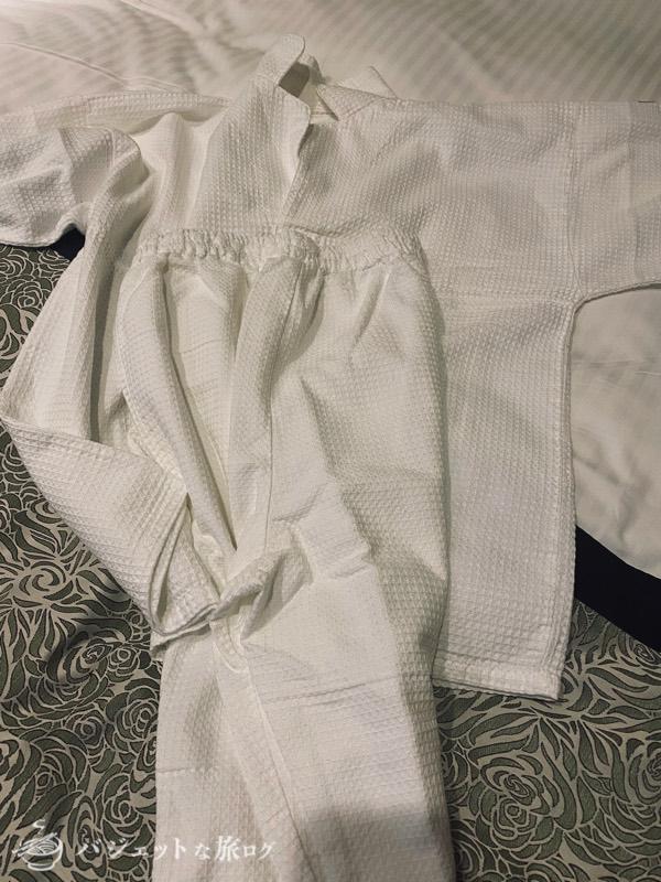 【宿泊記】ホテル・トリフィート那覇旭橋(肌触り良いパジャマ)