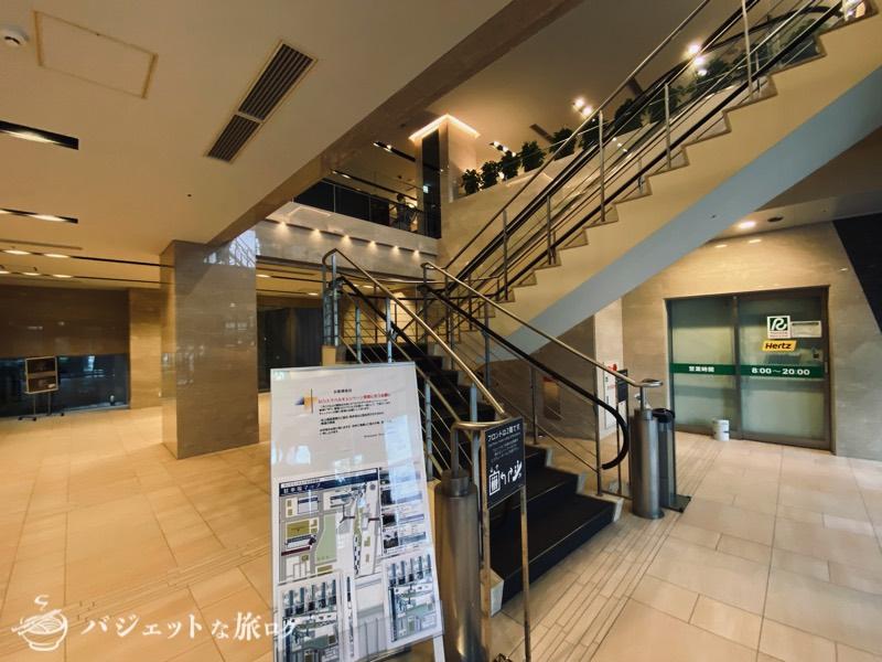 【宿泊記】リッチモンドホテル山形駅前(1F入り口付近)