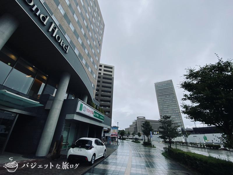 【宿泊記】リッチモンドホテル山形駅前(ホテル周辺は開発中の模様)