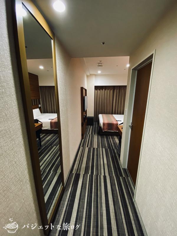 国際通り沿いにあるホテルJALシティ那覇の宿泊記(客室に潜入)
