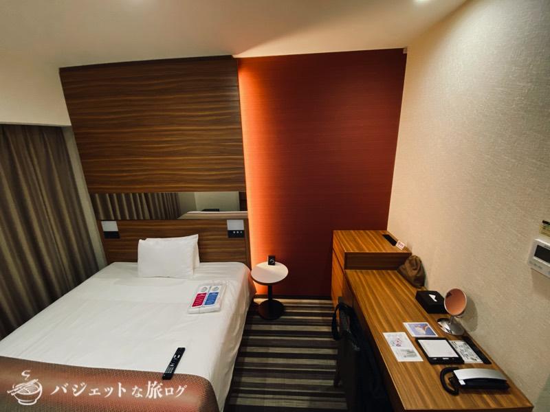 国際通り沿いにあるホテルJALシティ那覇の宿泊記(18平米あるので余裕ある広さ)