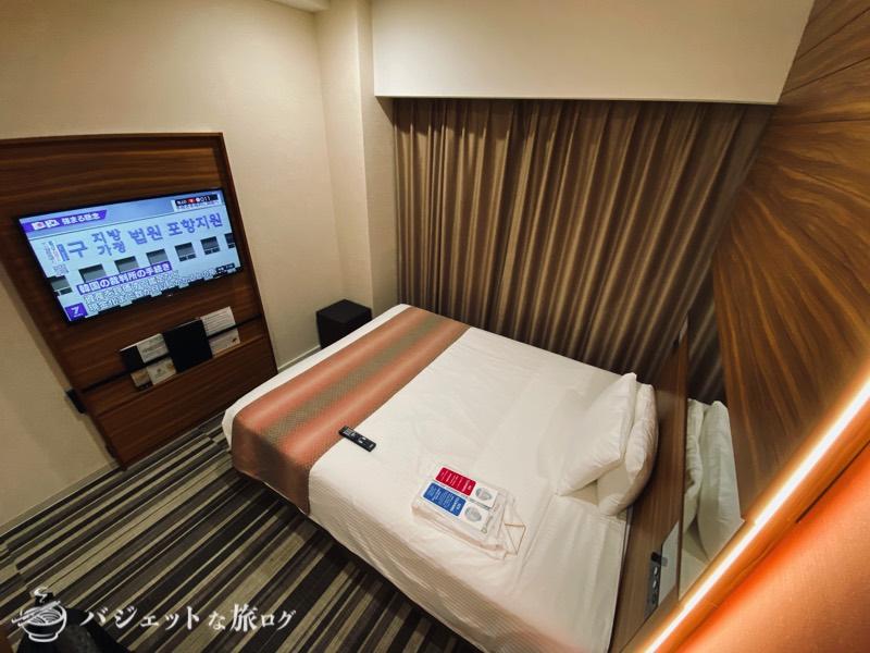 国際通り沿いにあるホテルJALシティ那覇の宿泊記(ベッドも大きい)