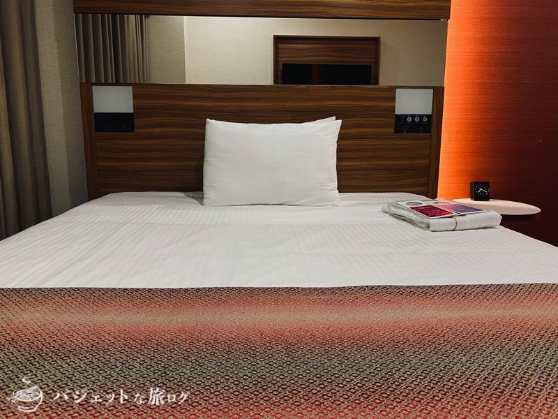 国際通り沿いにあるホテルJALシティ那覇の宿泊記(寝心地の良いシモンズ製のベッド)