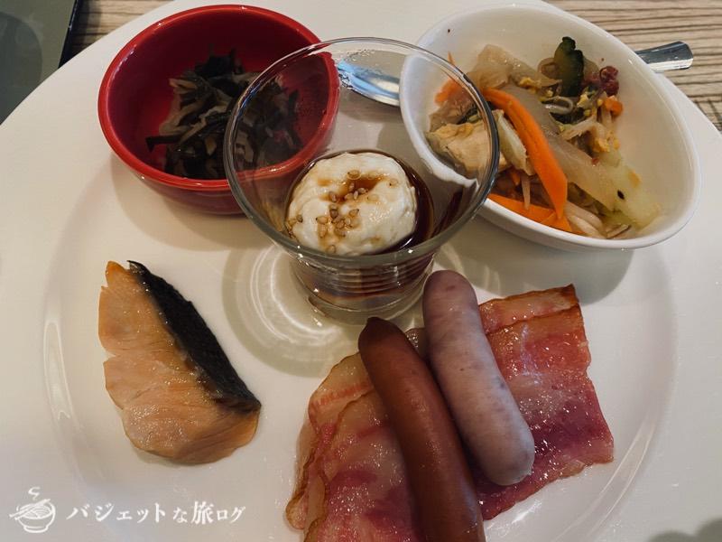 国際通り沿いにあるホテルJALシティ那覇の宿泊記(ビュッフェ以外で提供された料理)