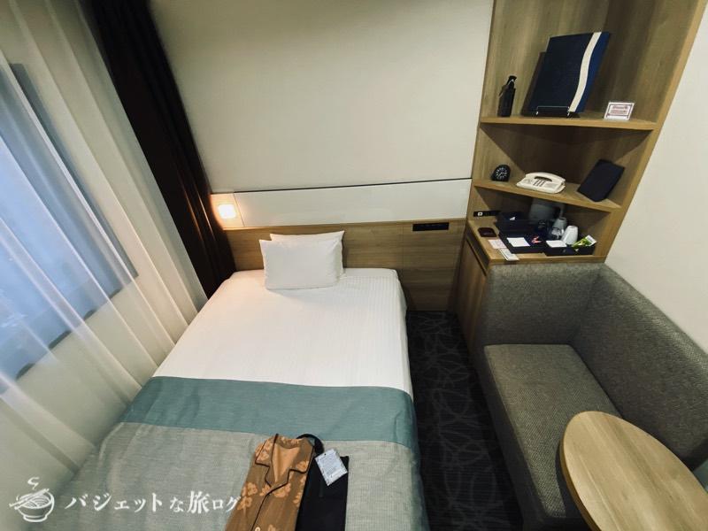 アルモントホテル那覇おもろまち宿泊記(コンパクトにまとまった客室)