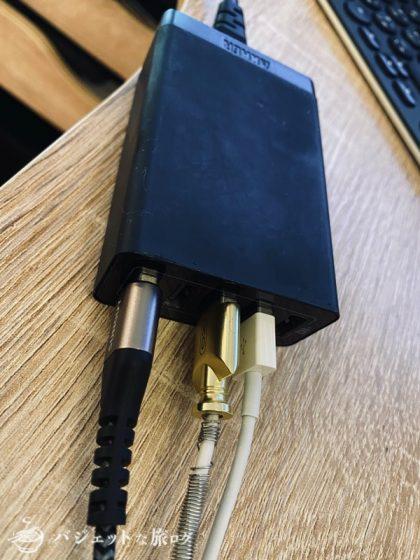 Anker製の急速充電器