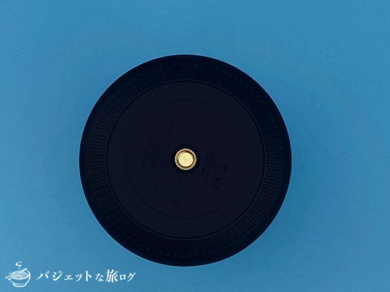 Anker「Nebula Capsule II」レビュー・口コミ・評判(本体下の三脚穴)