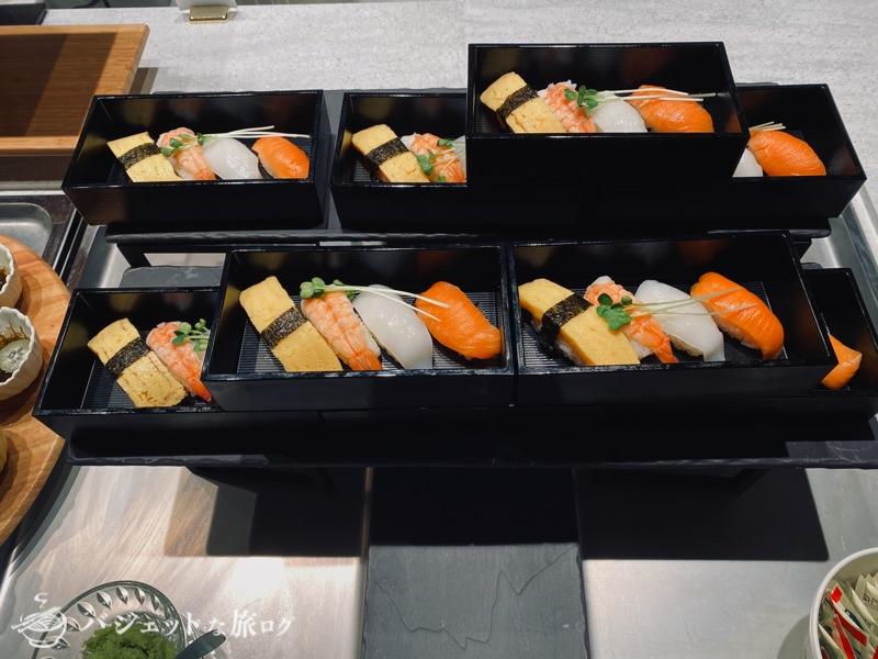 沖縄逸の彩 温泉リゾートホテルのブログ宿泊記レビュー(ビュッフェにはお寿司あり)