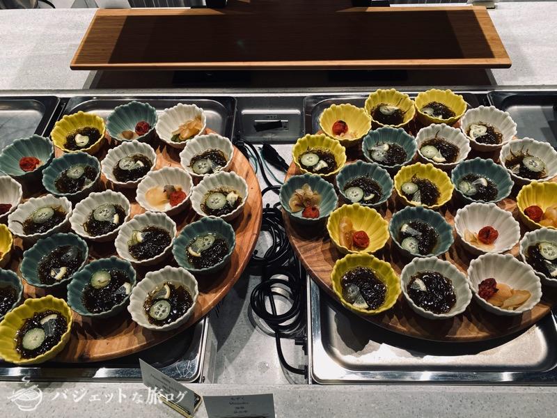 沖縄逸の彩 温泉リゾートホテルのブログ宿泊記レビュー(沖縄郷土料理のビュッフェ)