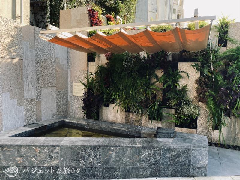 沖縄逸の彩 温泉リゾートホテルのブログ宿泊記レビュー(なんと足湯あり)