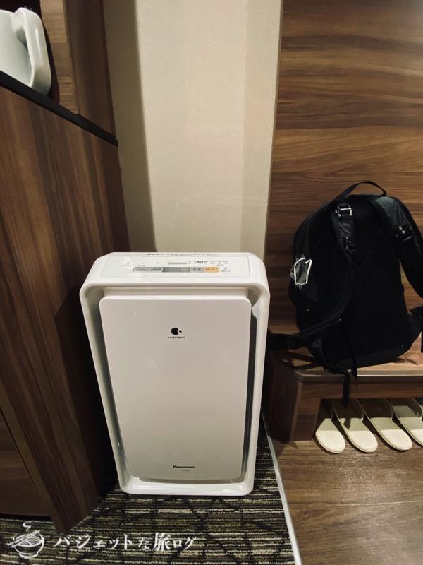 アルモントホテル那覇県庁前の宿泊記・ブログレビュー(空気清浄機)