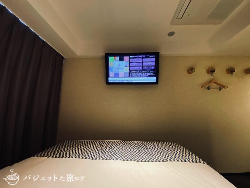 中洲まで徒歩圏内「ホテル・トリフィート博多祇園」宿泊記・ブログビュー(ベッドに寝転んでみた)