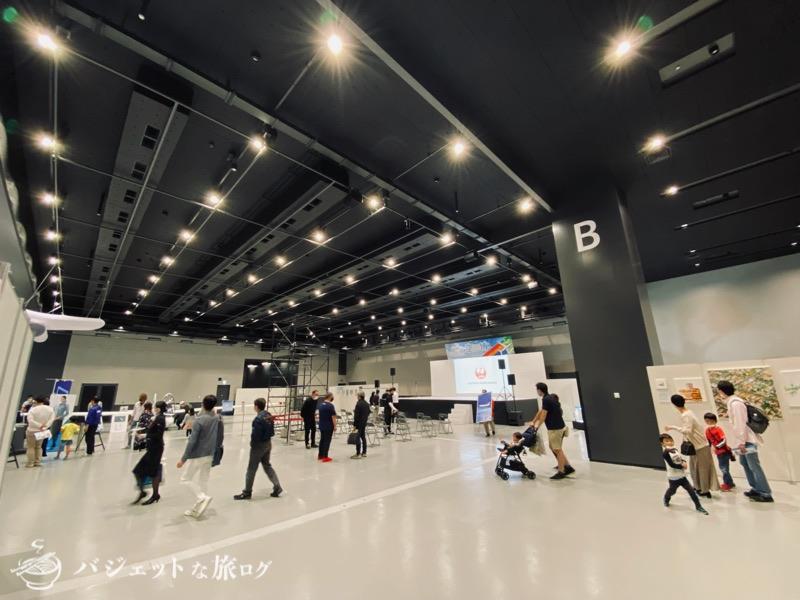 熊本にふらっと行ったら「くまもと空博2021」に遭遇した(熊本城ホール1階)