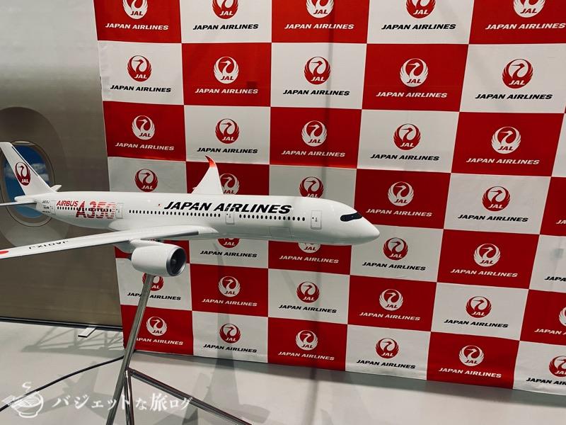 熊本にふらっと行ったら「くまもと空博2021」に遭遇した(A350模型)