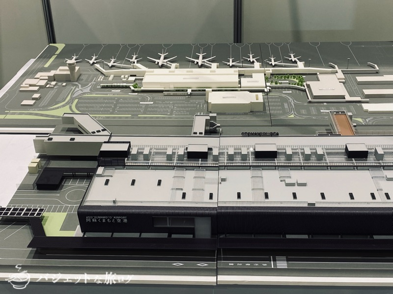 熊本にふらっと行ったら「くまもと空博2021」に遭遇した(熊本空港の模型)