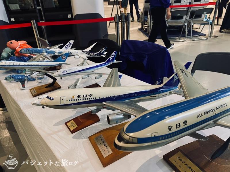 熊本にふらっと行ったら「くまもと空博2021」に遭遇した(ANA模型色々)