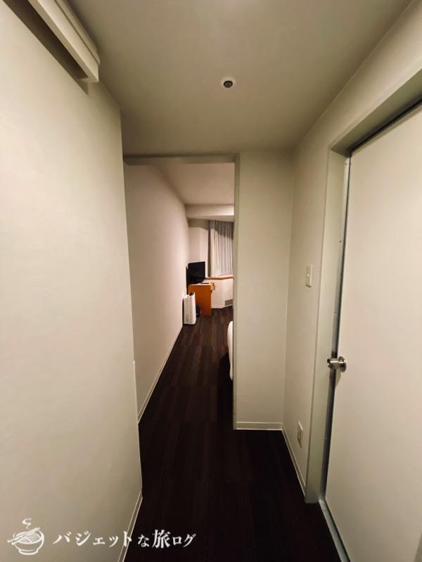 新千歳空港「エアターミナルホテル」ブログレビュー(客室の入り口)