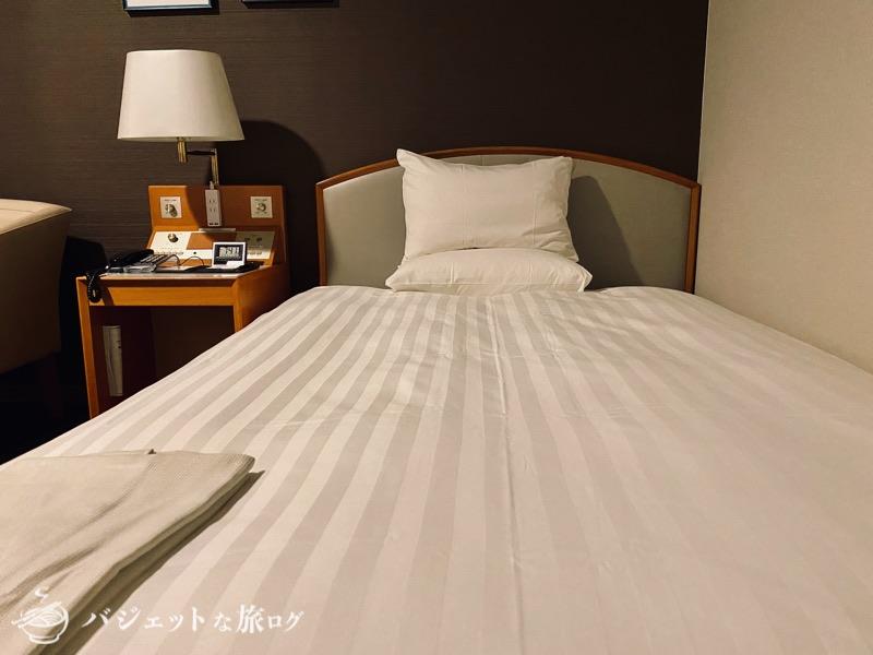 新千歳空港「エアターミナルホテル」ブログレビュー(客室のベッド)
