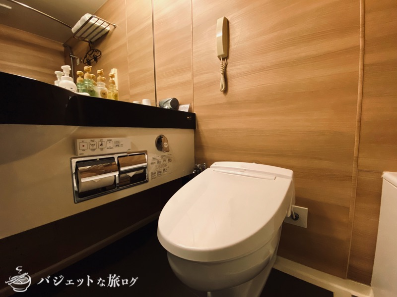 新千歳空港「エアターミナルホテル」ブログレビュー(シャワールーム・バスルーム・洗面所・ウォシュレットトイレ)