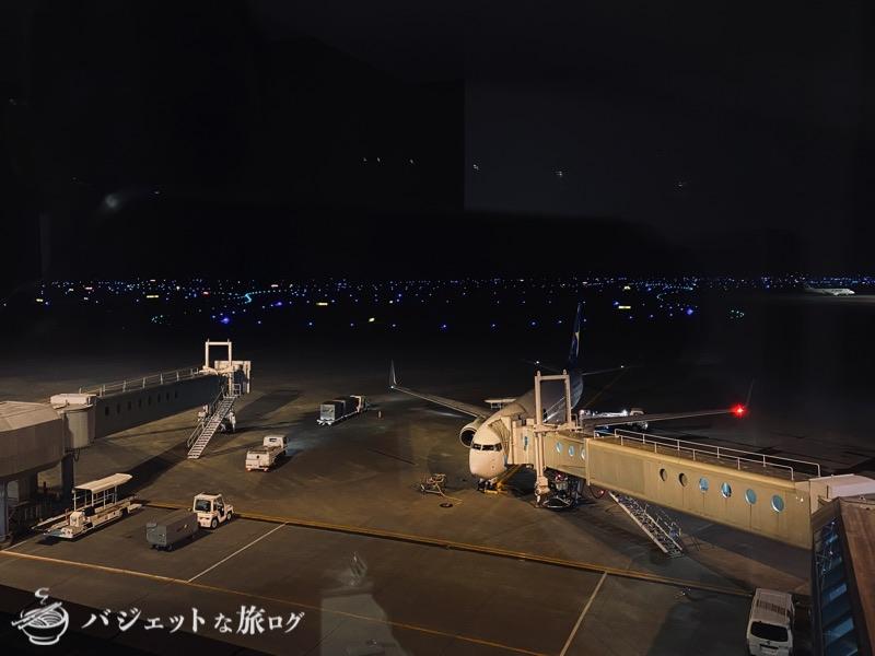 新千歳空港「エアターミナルホテル」ブログレビュー(客室の窓からの風景)