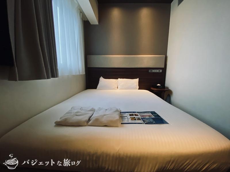 ブログ・口コミレビュー「ホテルアクアチッタナハ by WBF」(客室のベッド)