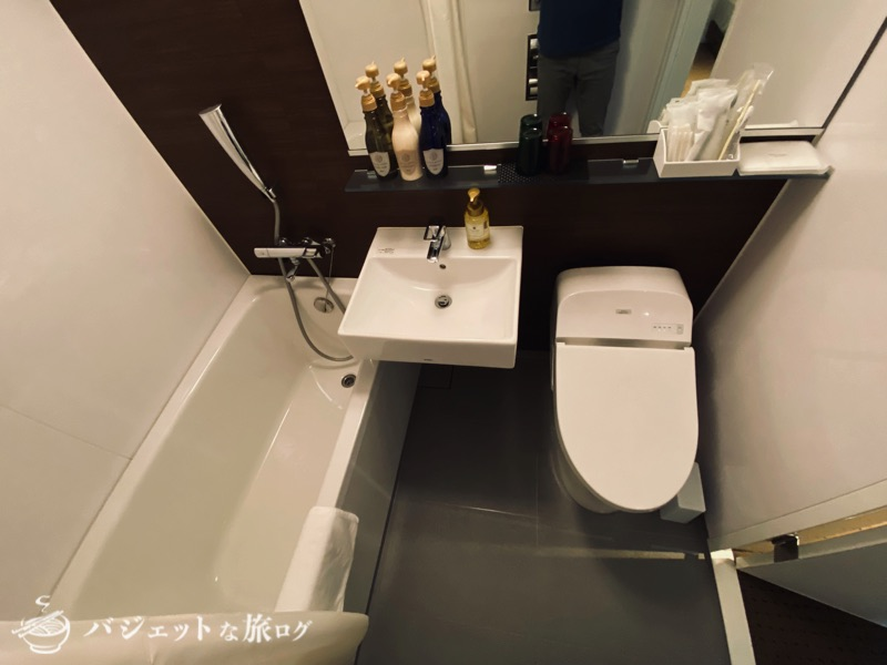 ブログ・口コミレビュー「ホテルアクアチッタナハ by WBF」(シャワールーム)