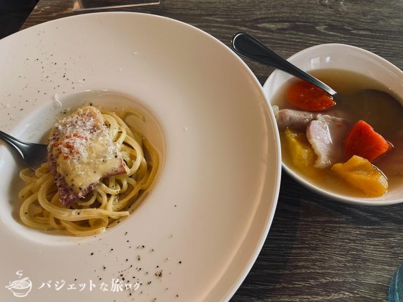 ブログ・口コミレビュー「ホテルアクアチッタナハ by WBF」(この日の豪華なイタリアン朝食)