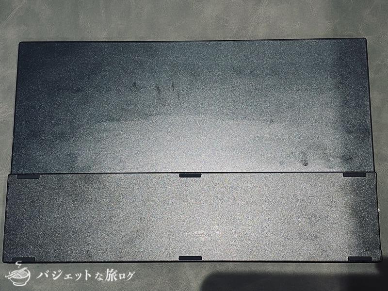 タッチパネル搭載15.6インチのEVICIVモバイルディスプレイ・レビュー(モニターの裏側)