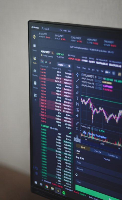 オンライン株取引のイメージ